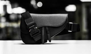 Kim Jones Reinterprets Dior's Saddle Bag for Men