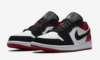 "Nike Cuts the Extremely Popular ""Black Toe"" Air Jordan 1 Into a Low"