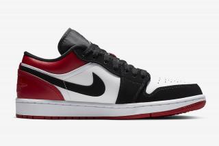 """23834ff0d96889 Nike Air Jordan 1 Low """"Black Toe""""  Rumored Release Information"""