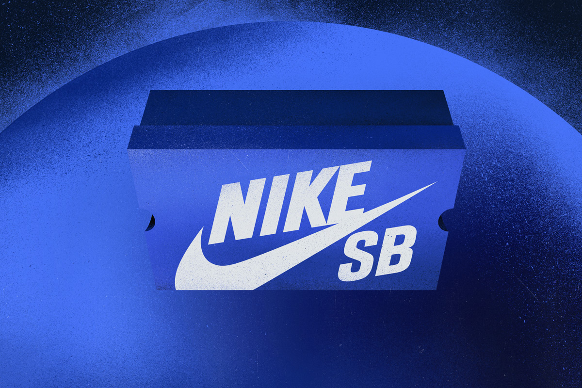 """the best attitude 12da7 66144 The """"Blue Box Era"""" saw fading interest in the SB Dunk, with collectors  chasing new trends and skateboarders returning to simple vulcanized  footwear, ..."""