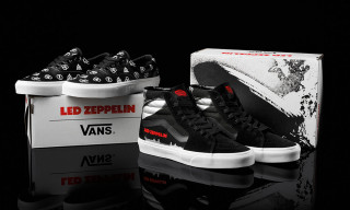 Rock Icons Led Zeppelin Get 50th Anniversary Vans Collab