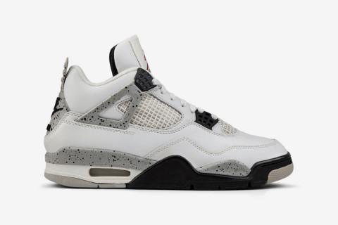 "87031eec693 Nike Air Jordan 4 ""White Cement"" (aka ""White Black"")"