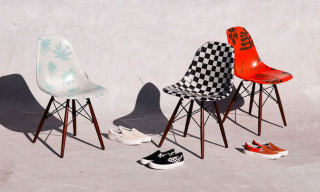 Vault by Vans & Modernica Debut Patterned Shell Chairs & Sneakers