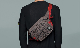 Stone Island & PORTER Drop New Garment Dyed Bags