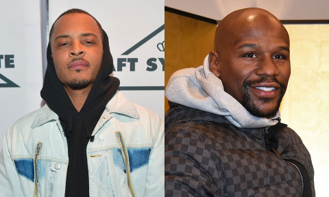 """T.I. Slams Floyd Mayweather for Supporting Gucci in New Diss Track """"F**K N***A"""""""