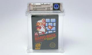 Rare Copy of 'Super Mario Bros.' Sells for Over $100K