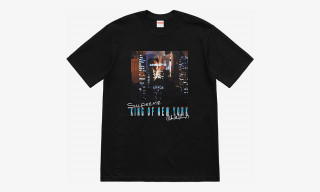 Christopher Walken's 'King of New York' Headlines Supreme's SS19 T-Shirt Collection