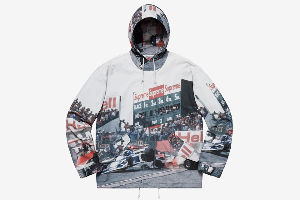 Supreme Comes Through With Graphic Heavy SS19 Jacket & Coat Collection