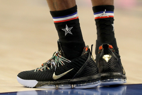 See Which Sneakers The Biggest Nba Stars Wore On All Star
