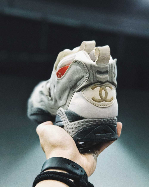 Chanel x Reebok Insta Pump Fury  A Look Back At The Unicorn Of Sneakers abf85833eb3c