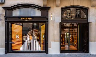 Here's an Exclusive Look inside Balmain's New Luxurious Paris Flagship Store