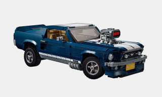 LEGO Reveals 1,470-Piece 1960s Ford Mustang Set