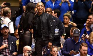 "Barack Obama's Custom ""44"" Bomber Jacket Proves He's a Smart Casual God"