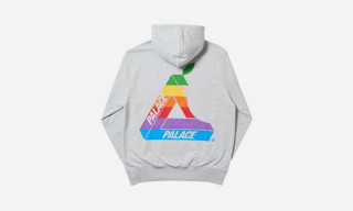 Palace Just Dropped an Homage to Apple's Vintage Rainbow Logo