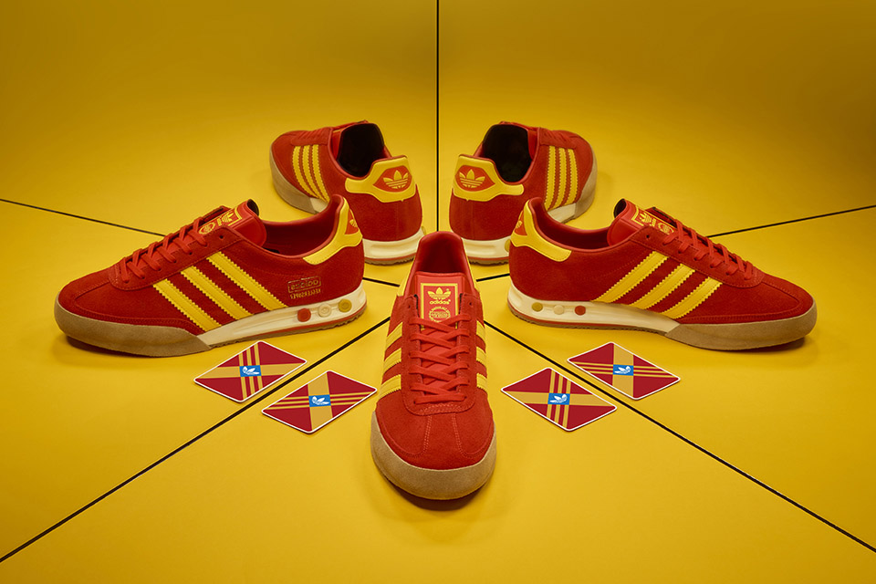 size? Digs Into the adidas Archives for a New Kegler Super
