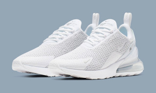 "Nike Gives the Air Max 270 a Sleek ""Pure Platinum"" Revamp"