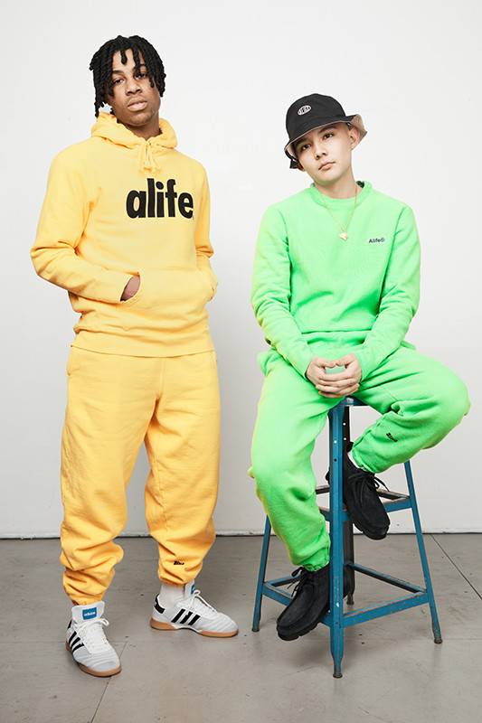 Alife's Colorful New Sweatsuits Liven Up Your Spring Wardrobe