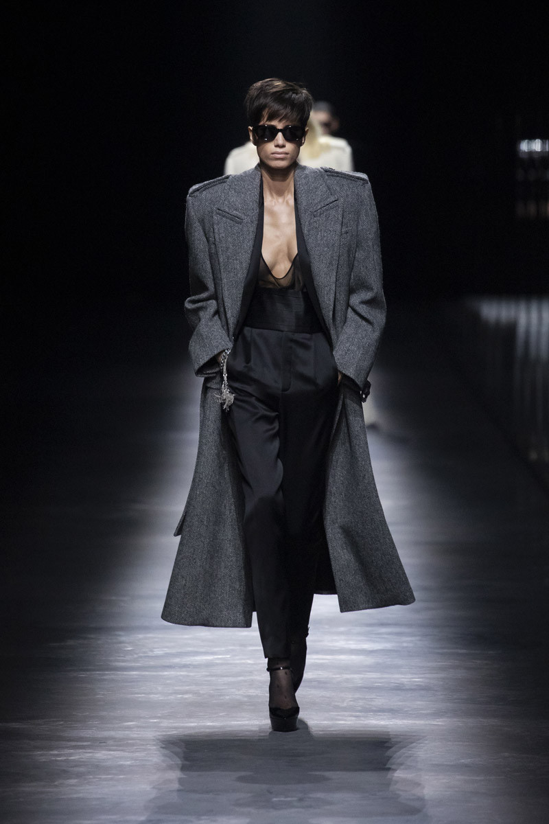 With Saint Laurent FW19, Anthony Vaccarello Steps Out From Hedi Slimane's Shadow