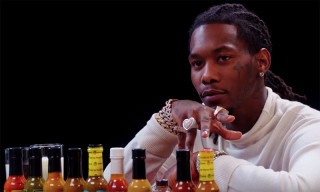 Offset Howls Like Ric Flair While Eating Spicy Wings on 'Hot Ones'