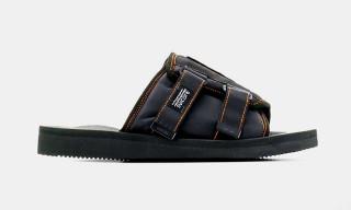 Palm Angels & Suicoke Drop Collaborative Patch Slider Sandals