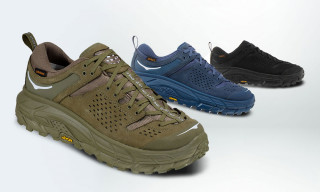 HOKA ONE ONE's Tor Ultra Low WP JP Blends Fashion & Function to Perfection