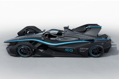 Mercedes EQ Silver Arrow 01 Is The Brand's First Electric Race Car