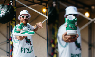 """Grillo's Pickles & Ewing Athletics Launch First Ever """"Pickle"""" Collab"""