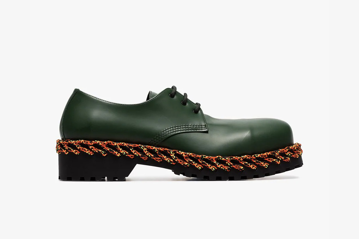 Balenciaga's New Dress Shoe Design Features Laces Where You Wouldn't Expect
