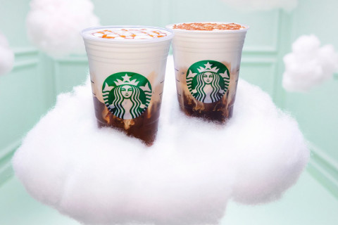 Starbucks Has a New 'Cloud' Drink-and a New Celebrity Ambassador