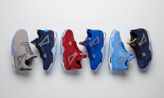 Jordan Brand Unveils a Fresh Pack of College Air Jordan 4 PEs for March Madness