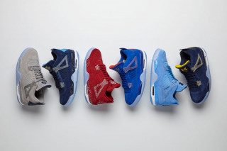 Jordan Brand Unveils a Fresh Pack of College Air Jordan 4 PEs for March  Madness f65641dd3