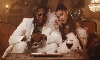 "2 Chainz & Ariana Grande Perform at a Jazz Club in ""Rule the World"" Video"