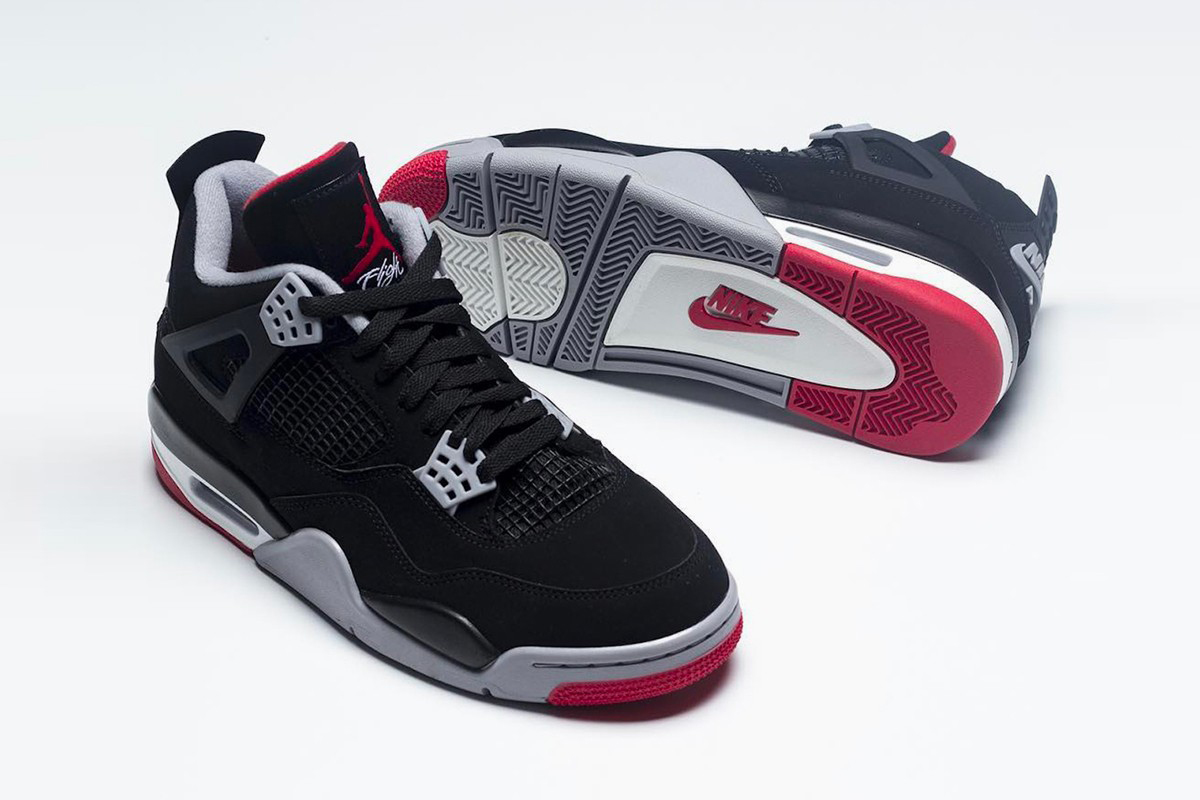 """Here s Your Best Look Yet at the Rumored """"Bred"""" Air Jordan 4 Retro a8a60d3bd"""