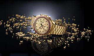Omega's Luxe 18-Karat Gold Speedmaster Celebrates Apollo 11