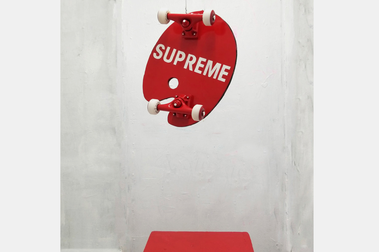 This Artist Sold His Knockoff Supreme Skateboard for $20,000