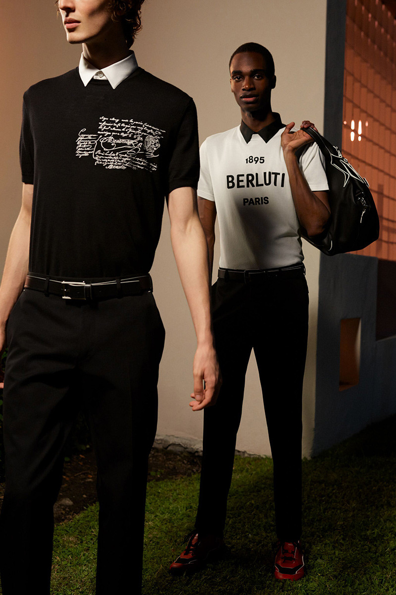 Kris Van Assche's First Capsule Collection for Berluti Is Inspired by New Wave