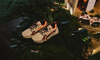 "The PUMA x Sue Tsai ""Wildflowers"" Collection Has Its Own Exhibition"