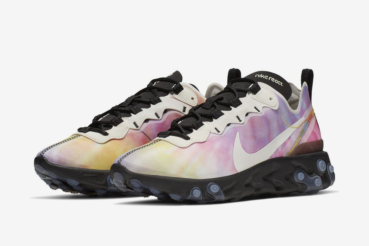 Nike Looks to Be Bringing a Tie-Dye Look to the React Element 55