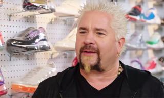 Guy Fieri Explains His Signature Flame Shirt on 'Sneaker Shopping'