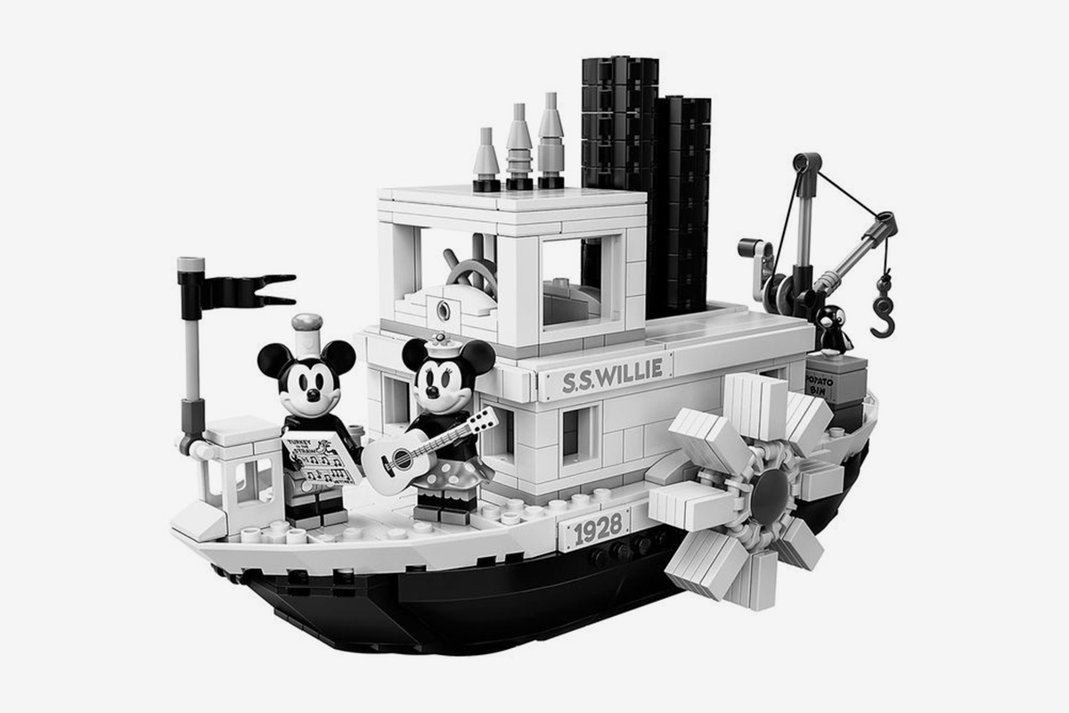 LEGO Pays Homage to Disney With Commemorative Steamboat Willie Set