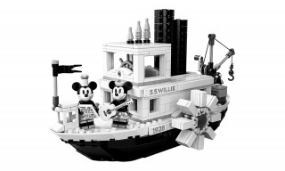 LEGO Pays Homage to Disney With Commemorative 'Steamboat Willie' Set
