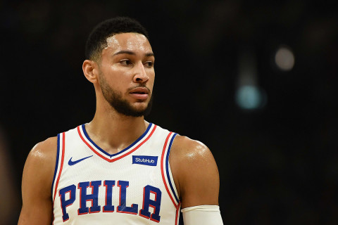 76ers' Simmons pays tribute to Australian