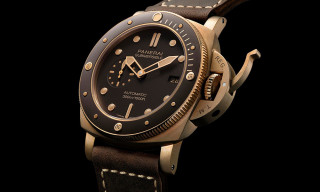 This Panerai Submersible Bronzo Diving Watch Costs $16,500