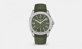Patek Philippe's $35,000 Aquanaut Timepiece Returns in Khaki Green Colorway