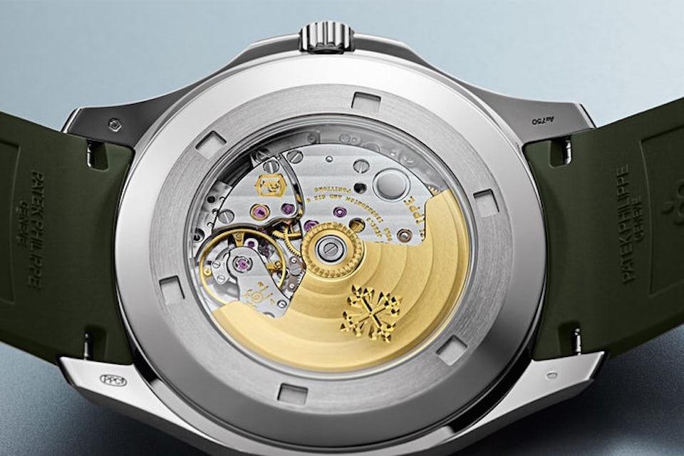 Patek Philippe's $35,000 Aquanaut Timepiece Returns in Khaki Green Colorway