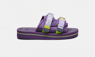 Suicoke's MOTO-VS & DEPA-V2 Sandals Return in Vibrant Neon Purple Colorway