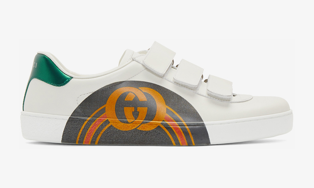 Gucci Updates Its Ace Sneaker With Some Bold New Branding