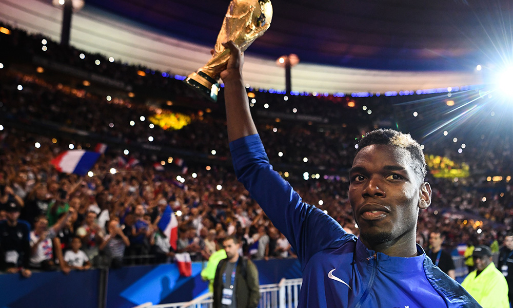 Paul Pogba Just Bought the Entire French World Cup Squad an Insane Championship Ring