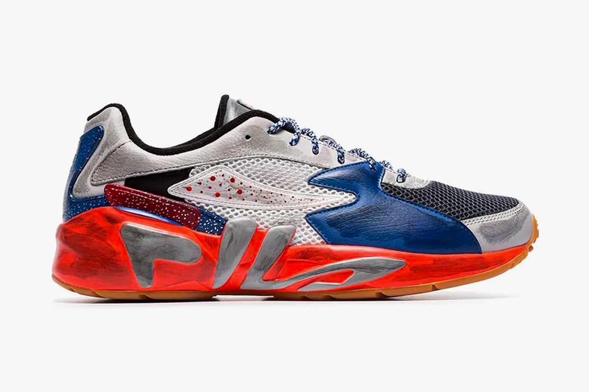 Liam Hodges Takes FILA's Mindblower to Colorful Heights With New Collaboration