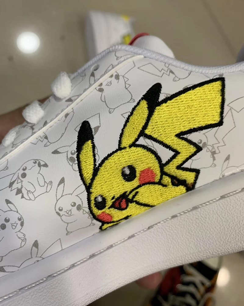 Pictures of Rumored adidas x 'Pokémon' Sneaker Collab Leaked